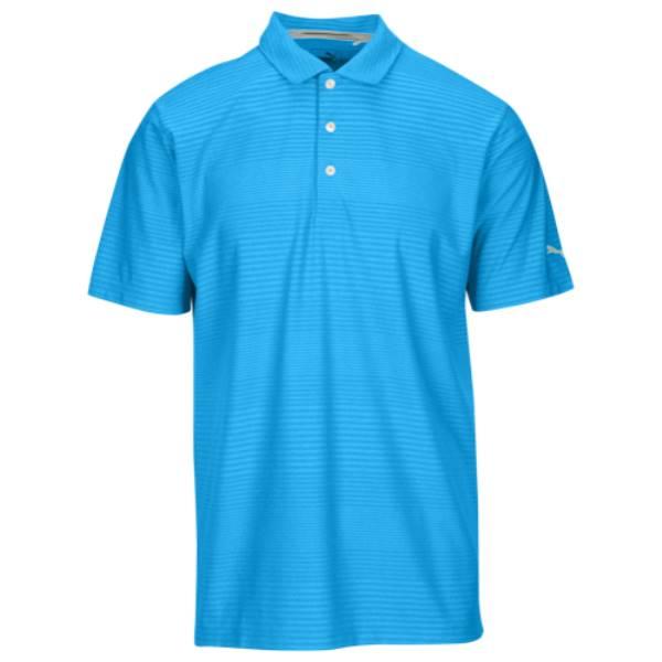 公式 プーマ Golf メンズ ゴルフ トップス【Pounce Aston Golf Polo メンズ】Electric Polo】Electric Blue Lemonade, 最適な材料:6ad946ad --- canoncity.azurewebsites.net