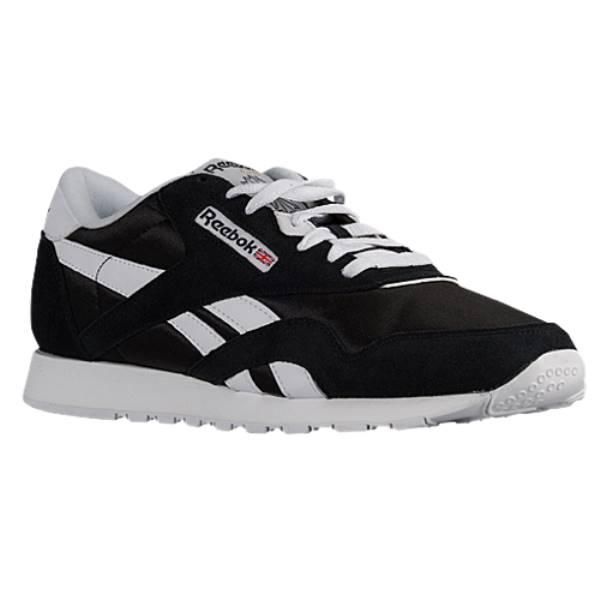リーボック メンズ ランニング・ウォーキング シューズ・靴【Classic Nylon】Black/White