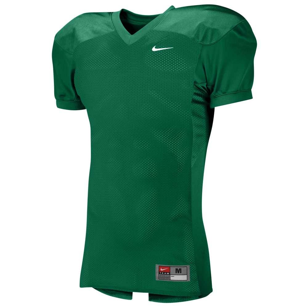 ナイキ メンズ アメリカンフットボール トップス【Team Defender Jersey】Dark Green/White