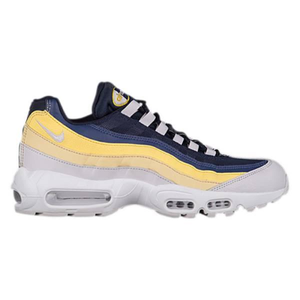 ナイキ メンズ ランニング・ウォーキング シューズ・靴【Air Max 95】White/Vast Grey/Lemon Wash/Yellow