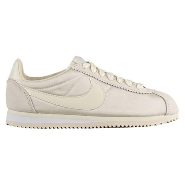 ナイキ レディース ランニング・ウォーキング シューズ・靴【Classic Cortez Nylon】Fossil/Fossil/White