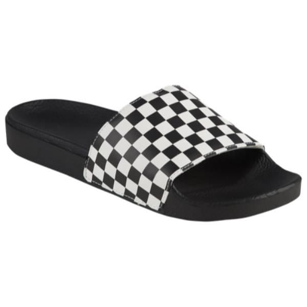 ヴァンズ メンズ メンズ シューズ ヴァンズ・靴 サンダル【Slide-On】White/Checkerboard, ValueMart24:ba91d897 --- sunward.msk.ru