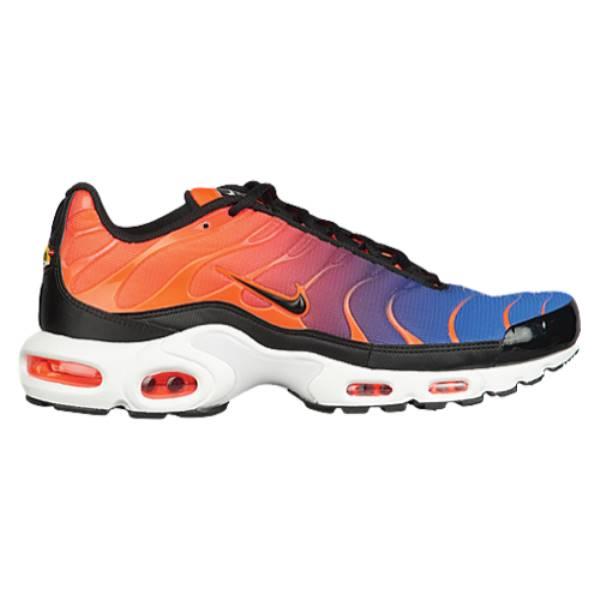 ナイキ メンズ ランニング・ウォーキング シューズ・靴【Air Max Plus】Total Crimson/Black/Racer Blue/White
