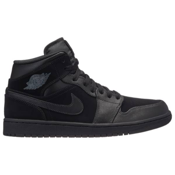 ナイキ ジョーダン メンズ バスケットボール シューズ・靴【AJ 1 Mid】Black/Dark Grey/Black
