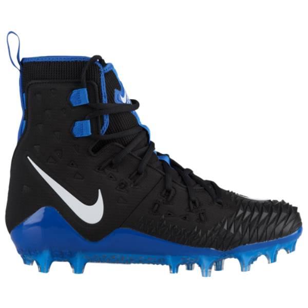ナイキ メンズ アメリカンフットボール シューズ・靴【Zoom Force Savage Elite TD】Black/White/Game Royal/Photo Blue