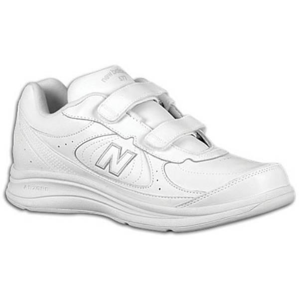 ニューバランス メンズ ランニング・ウォーキング シューズ・靴【577 Hook & Loop】White