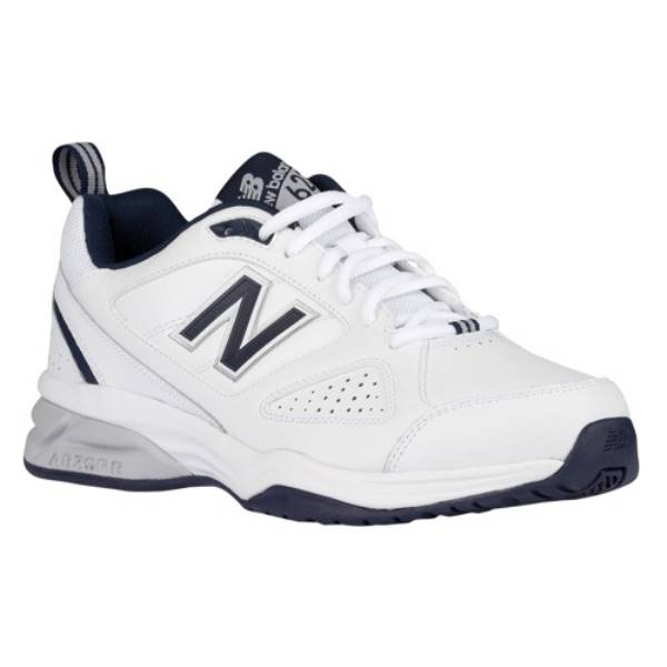 ニューバランス メンズ フィットネス・トレーニング シューズ・靴【623v3】White/Navy
