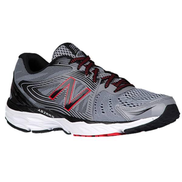 ニューバランス メンズ ランニング・ウォーキング シューズ・靴【680 V4】Steel/Black