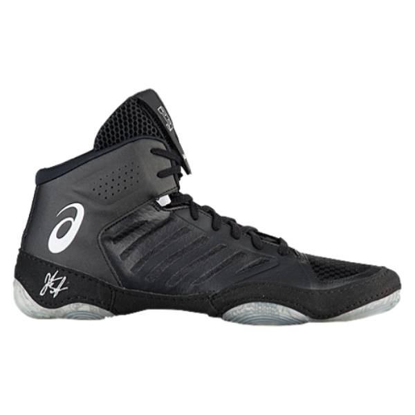 アシックス メンズ レスリング シューズ・靴【JB Elite III】Black/White