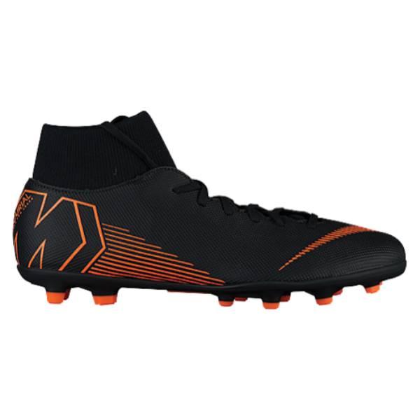 ナイキ メンズ サッカー シューズ・靴【Mercurial Superfly 6 Club MG】Black/Total Orange/White