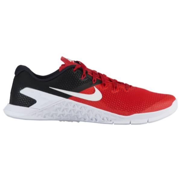ナイキ メンズ フィットネス・トレーニング シューズ・靴【Metcon 4】University Red/White/Black
