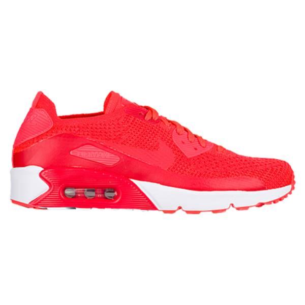 ナイキ メンズ ランニング・ウォーキング シューズ・靴【Air Max 90 Ultra 2.0 Flyknit】Bright Crimson/Bright Crimson