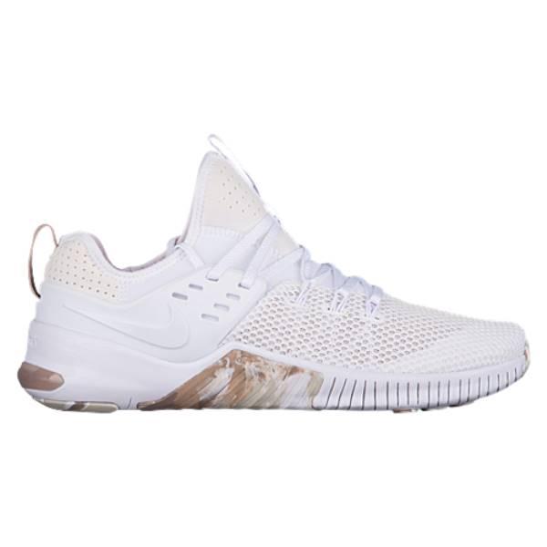 ナイキ メンズ フィットネス・トレーニング シューズ・靴【Free x Metcon】White/White/Sand/Sepia Stone/Light Bone