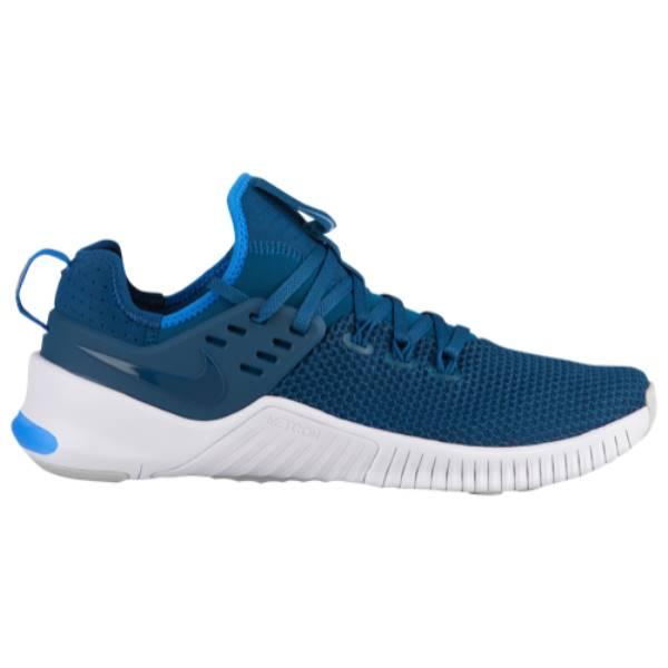ナイキ メンズ フィットネス・トレーニング シューズ・靴【Free x Metcon】Blue Force/White/Monacrch/Orange Pulse