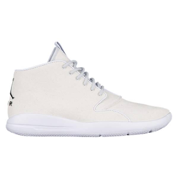 ナイキ ジョーダン メンズ バスケットボール シューズ・靴【Eclipse Chukka】White/Black/Pure Platinum