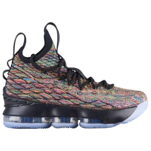 ナイキ メンズ バスケットボール シューズ・靴【LeBron 15】Multi/Black