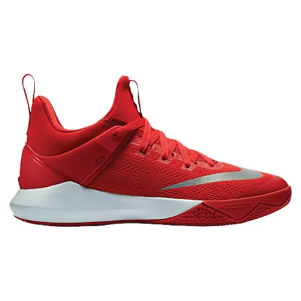 ナイキ メンズ バスケットボール シューズ・靴【Zoom Shift】University Red/White