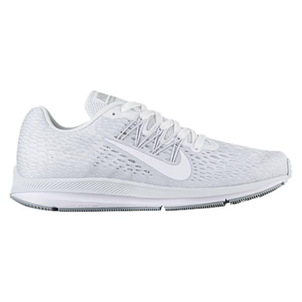 ナイキ メンズ ランニング・ウォーキング シューズ・靴【Zoom Winflo 5】White/Wolf Grey/Pure Platinum