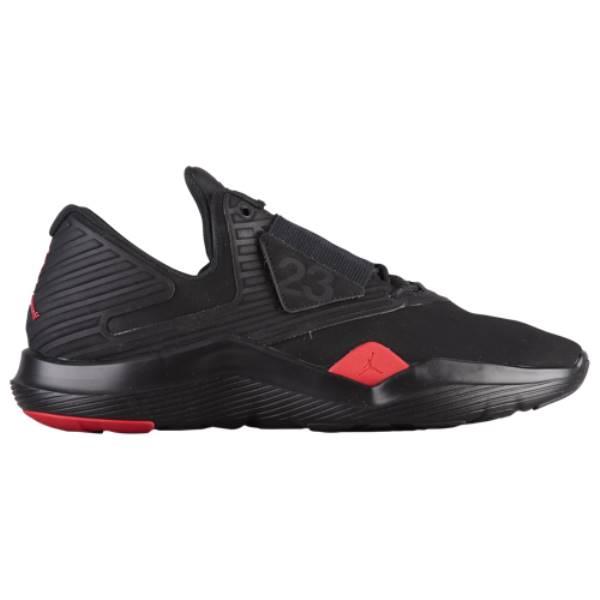 ナイキ ジョーダン メンズ フィットネス・トレーニング シューズ・靴【Relentless】Black/Vivid Red/Dandelion
