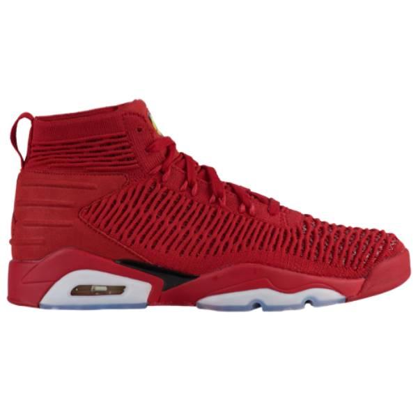 ナイキ ジョーダン メンズ バスケットボール シューズ・靴【FlyKnit Elevation 23】University Red/Black