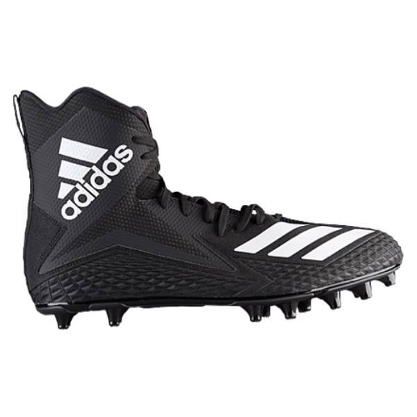 アディダス メンズ アメリカンフットボール シューズ・靴【Freak X Carbon High】Black/White/Black