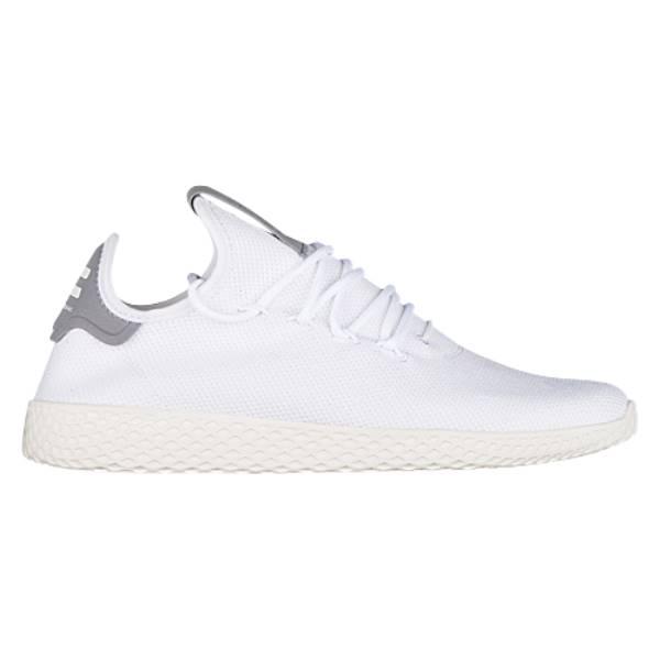 アディダス メンズ テニス シューズ・靴【PW Tennis HU】White/Grey/Chalk White
