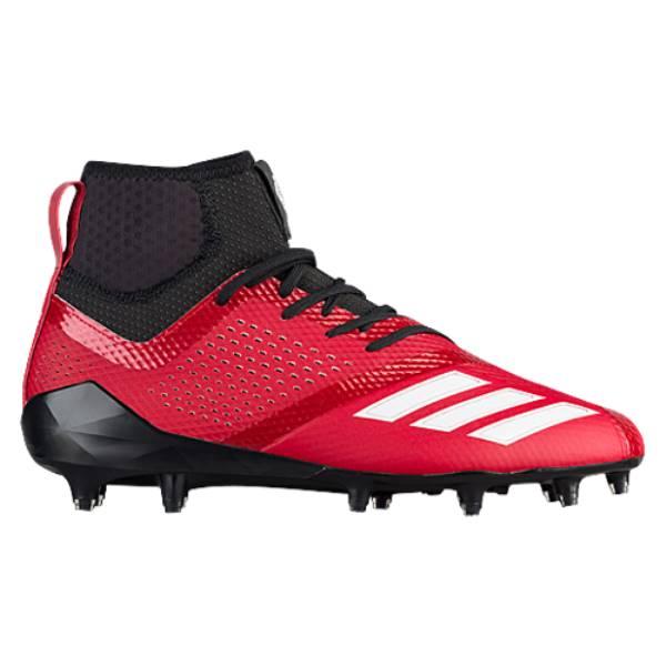 アディダス メンズ アメリカンフットボール シューズ・靴【adiZero 5-Star 7.0 Mid】Power Red/White/Black
