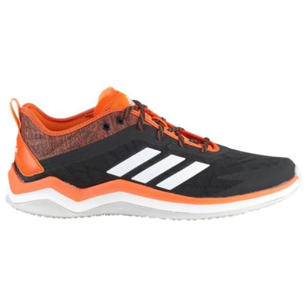 アディダス メンズ 野球 シューズ・靴【Speed Trainer 4】Black/Orange
