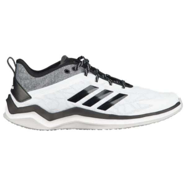 アディダス メンズ 野球 シューズ・靴【Speed Trainer 4】White/Black/Silver