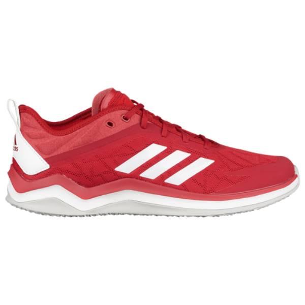 アディダス メンズ 野球 シューズ・靴【Speed Trainer 4】Red/White