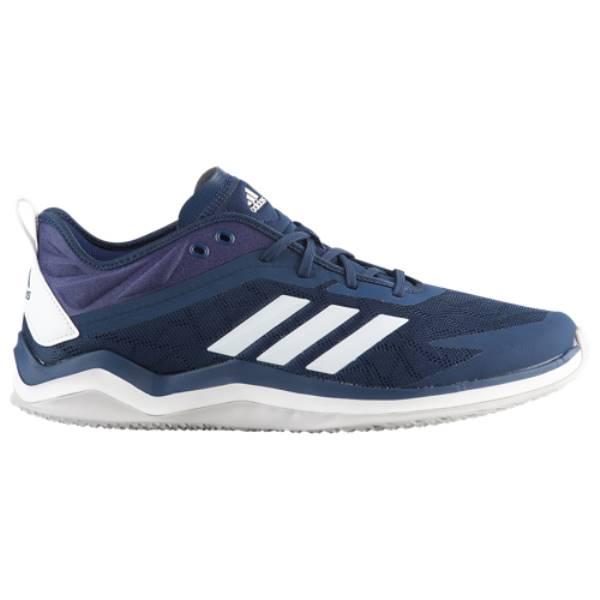 アディダス メンズ 野球 シューズ・靴【Speed Trainer 4】Collegiate Navy/White