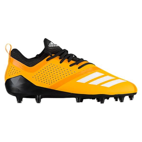 アディダス メンズ アメリカンフットボール シューズ・靴【adiZero 5-Star 7.0】Black/Gold Sld