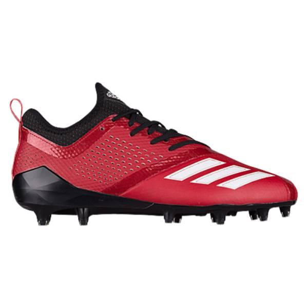 アディダス メンズ アメリカンフットボール シューズ・靴【adiZero 5-Star 7.0】Black/Power Red
