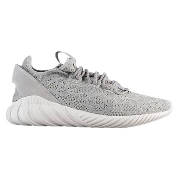 アディダス メンズ ランニング・ウォーキング シューズ・靴【Tubular Doom Sock Primeknit】Grey/White/Grey