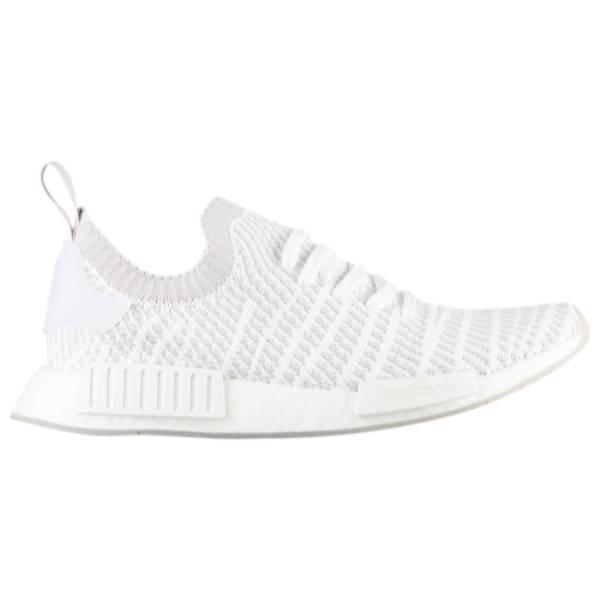 アディダス メンズ ランニング・ウォーキング シューズ・靴【NMD R1 STLT Primeknit】White/Grey/Crystal White