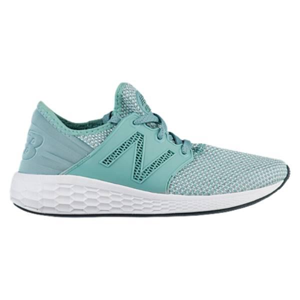ニューバランス レディース ランニング・ウォーキング シューズ・靴【Fresh Foam Cruz V2】Mineral Sage/White