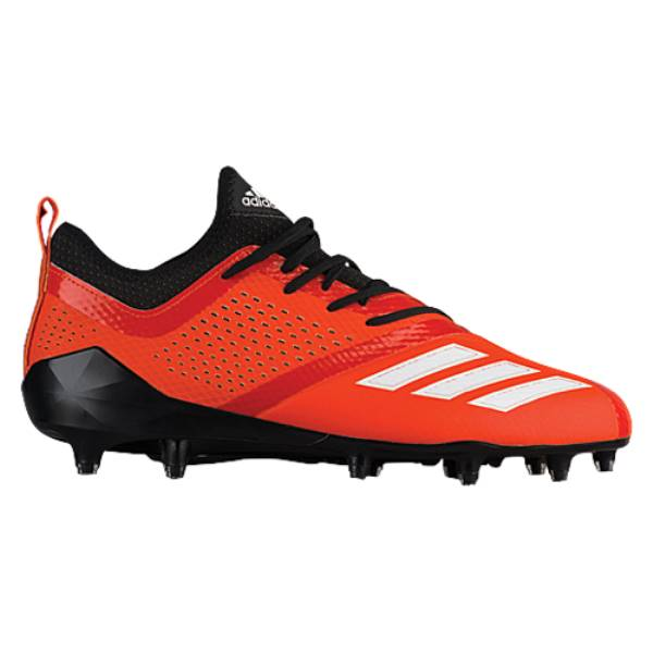 アディダス メンズ アメリカンフットボール シューズ・靴【adiZero 5-Star 7.0】Black/Collegiate Orange