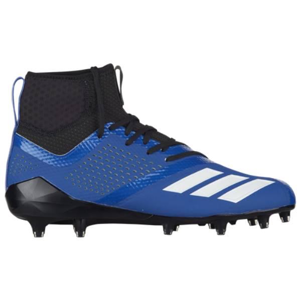 アディダス メンズ アメリカンフットボール シューズ・靴【adiZero 5-Star 7.0 Mid】Collegiate Royal/White/Black