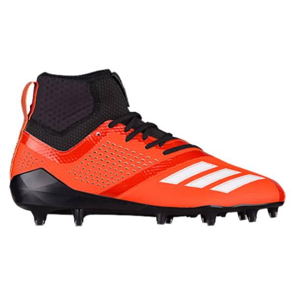 アディダス メンズ アメリカンフットボール シューズ・靴【adiZero 5-Star 7.0 Mid】Collegiate Orange/White/Black