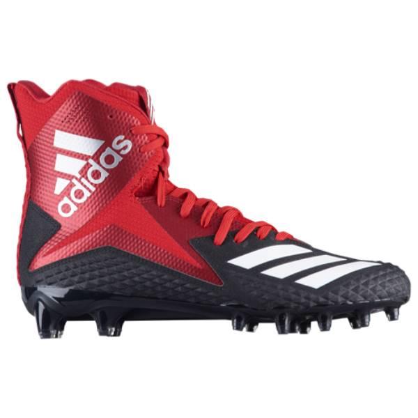 アディダス メンズ アメリカンフットボール シューズ・靴【Freak X Carbon High】Black/Power Red