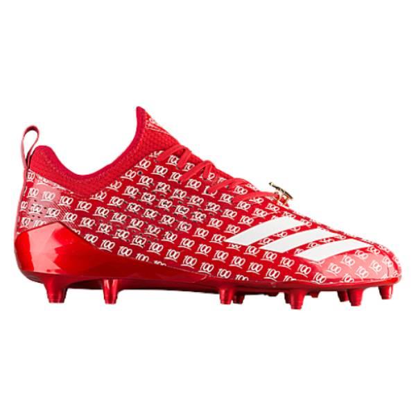 アディダス メンズ アメリカンフットボール シューズ・靴【adiZero 5-Star 7.0 adiMoji】Collegiate Red/White/Collegiate Red