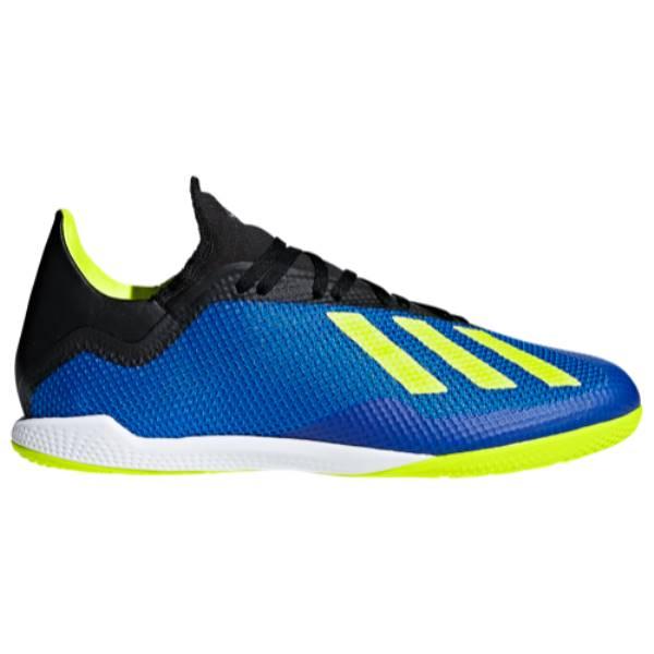 人気商品の アディダス メンズ サッカー シューズ・靴【X Tango 18.3 18.3 メンズ IN】Football IN】Football Blue/Solar Yellow, ミズノ公式通販:cba64649 --- canoncity.azurewebsites.net