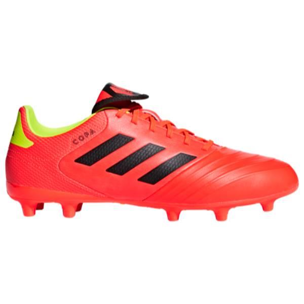 アディダス メンズ サッカー シューズ・靴【Copa 18.3 FG】Solar Red/Core Black
