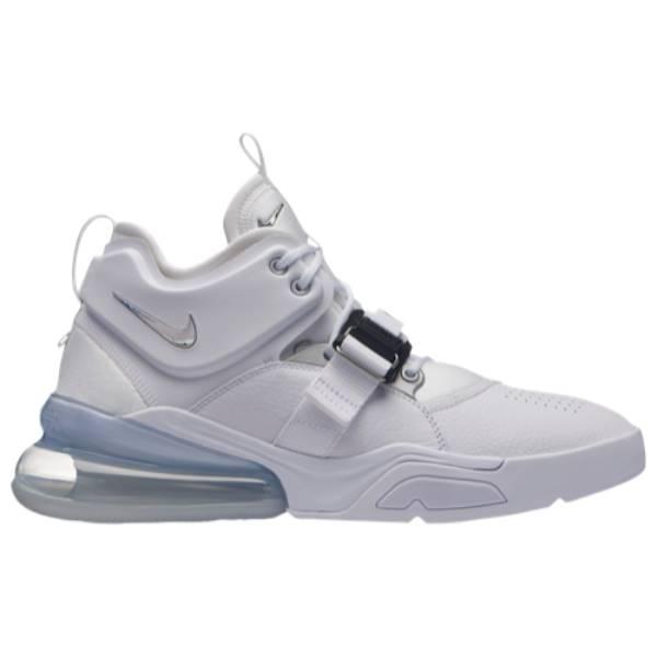 ナイキ メンズ バスケットボール シューズ・靴【Air Force 270】White/Metallic Silver