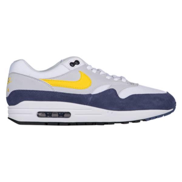 Max Recall/Pure ナイキ メンズ 1】White/Tour シューズ・靴【Air Platinum Yellow/Blue ランニング・ウォーキング