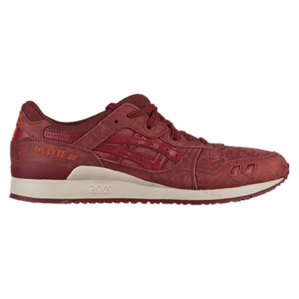 アシックス メンズ ランニング・ウォーキング シューズ・靴【GEL-Lyte III】Russet Brown/Russet Brown