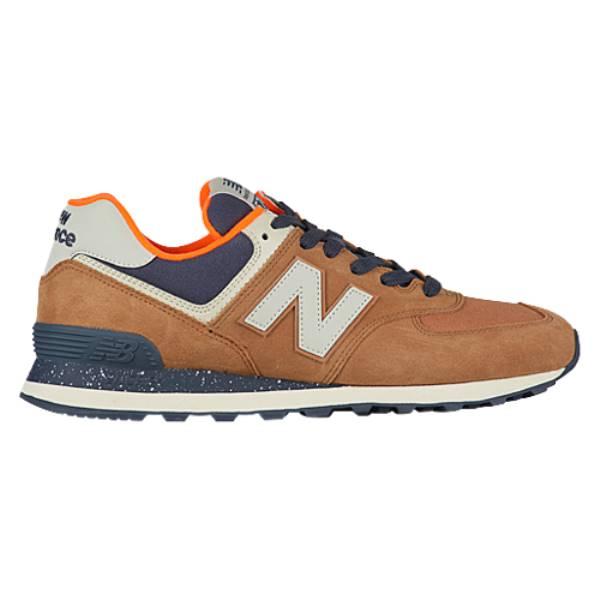 ニューバランス メンズ ランニング・ウォーキング シューズ・靴【574 Classic】Brown Sugar/Dynomite