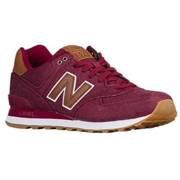 ニューバランス メンズ ランニング・ウォーキング シューズ・靴【574】Red/Brown