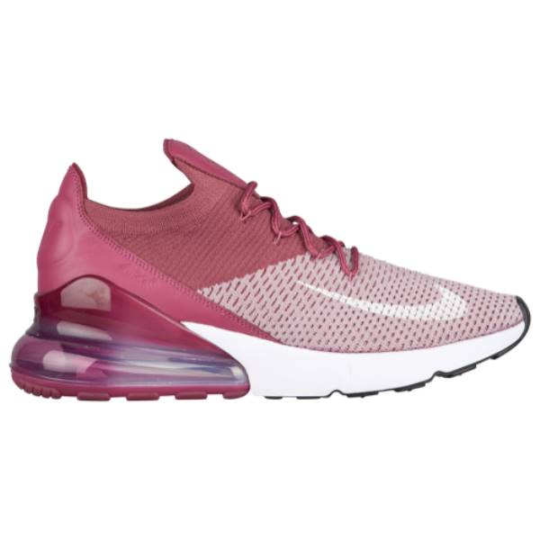 ナイキ メンズ バスケットボール シューズ・靴【Air Max 270 Flyknit】Plum Fog/White/Vintage Wine/Total Crimson
