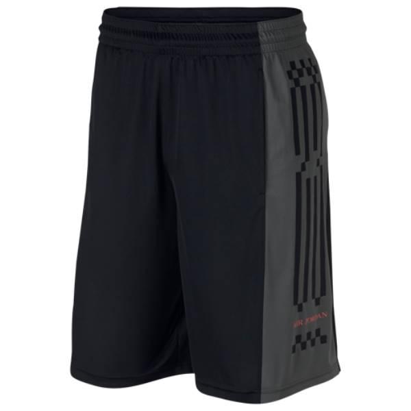 ナイキ ジョーダン メンズ バスケットボール ボトムス・パンツ【Retro 10 Shorts】Black/Anthracite/Red